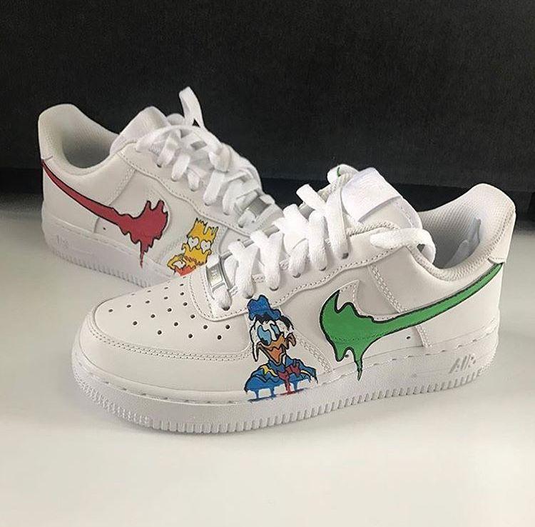Custom Nike court borough,Asterix & Obelix, custom sneakers