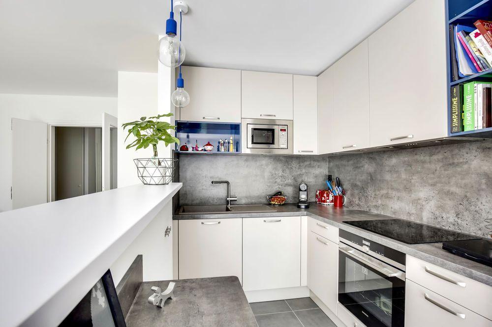 Cuisine ouverte en L  idées du0027aménagement Kitchens - idee bar cuisine ouverte