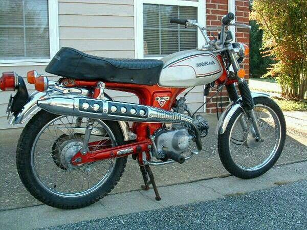 Honda Cl70 Scrambler Motorcycle Xe May Honda Honda Xe Mo To