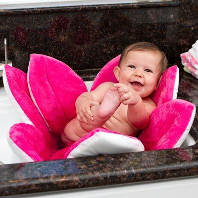 BLOOMING BATH BABY BATH PINK