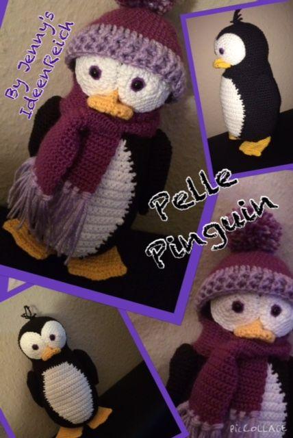 Pelle Pinguin Haekeln Jennys Ideenreich Kinder Pinterest
