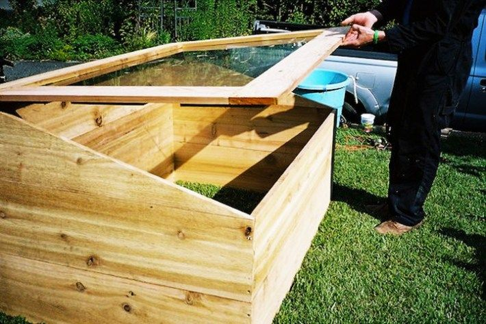 How to Build Your Own Mini Greenhouse is part of Mini Outdoor garden - How to Build Your Own Mini Greenhouse  Gardeners looking to extend the growing season into winter can do so with a cold frame  This handy mini greenhouse