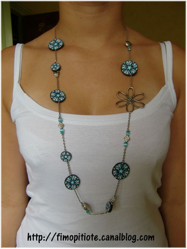 bijoux pate fimo collier bracelet boucles d oreilles 121. Black Bedroom Furniture Sets. Home Design Ideas