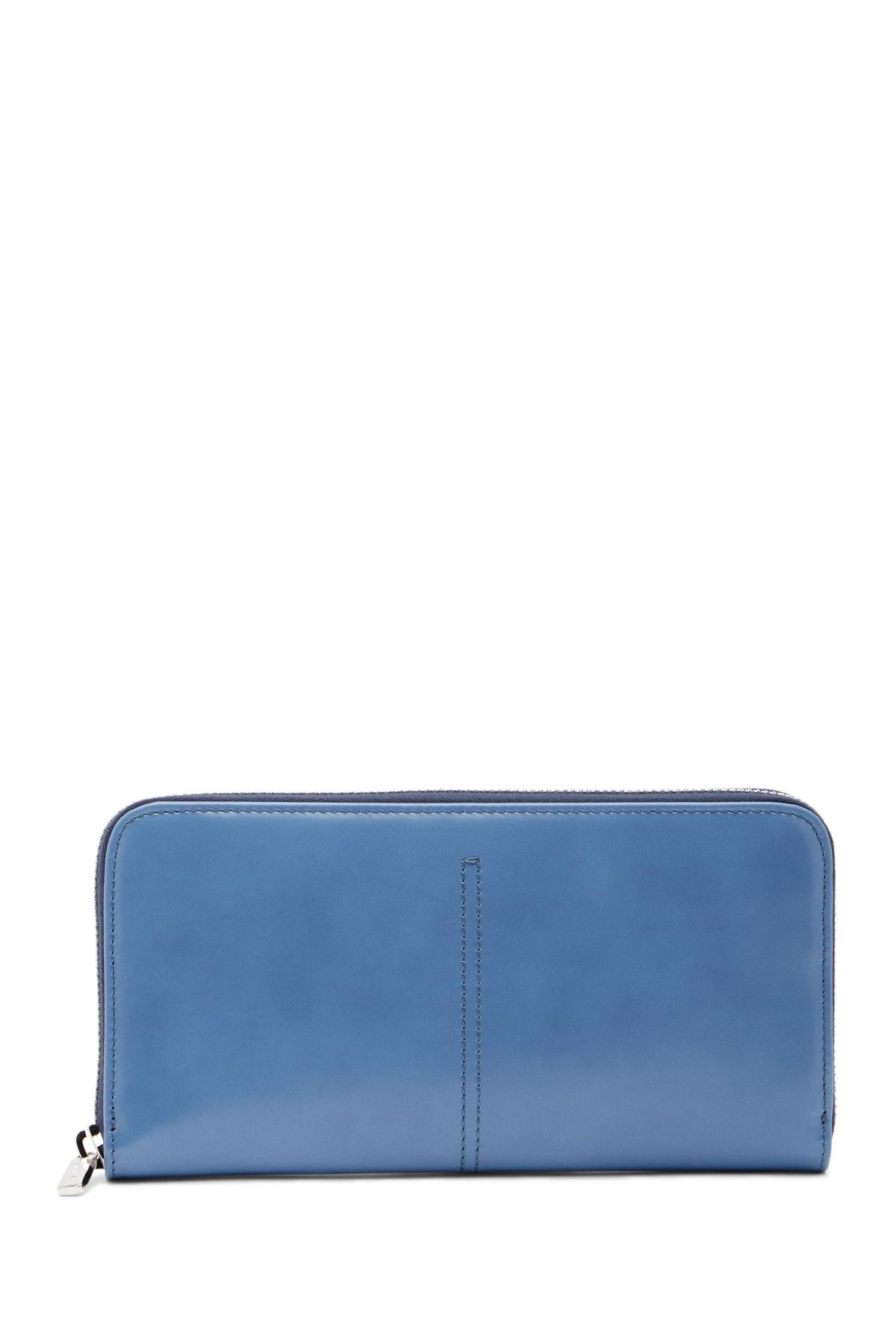 d65815a3ea Zip Around Leather Checkbook Clutch Wallet | Products | Pinterest