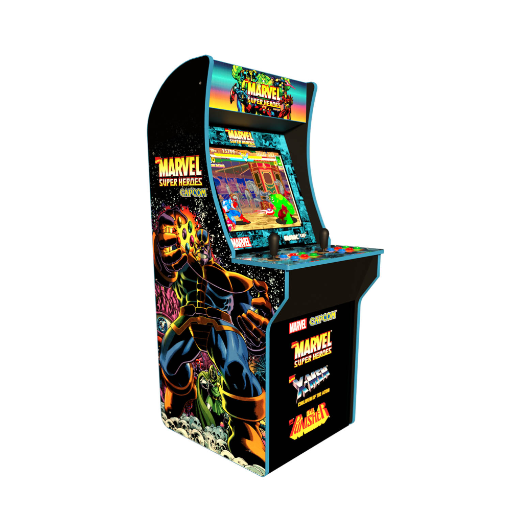 Marvel Superheroes Arcade Machine Arcade1up 4ft Pick Up Today Walmart Com Arcade Machine Retro Arcade Arcade Games
