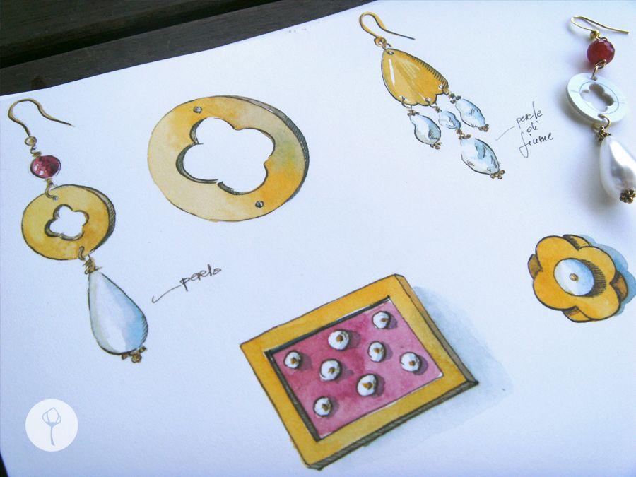 Paper leaf design di gioielli ornamenti di carta e gioielli for Design di gioielli