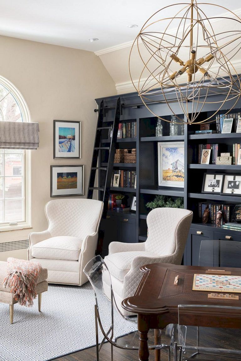 25+ Incredible Home Office Built In Cabinets Ideas To Inspire You 69