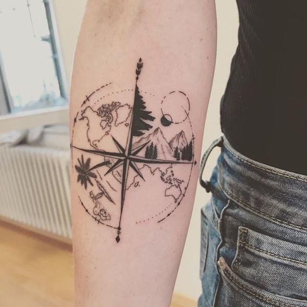 Photo of Tatuagem de viagem: 40 ideias para você copiar