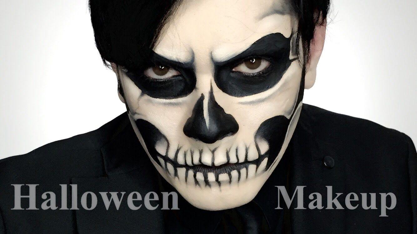 Gaga lady inspired halloween skull makeup tutorial new photo