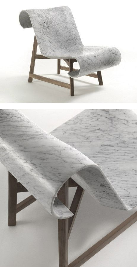 Marble Armchair Curl By Riva 1920 Design Gritti Rollo Furniture Design Furniture Inspiration Interior Furniture