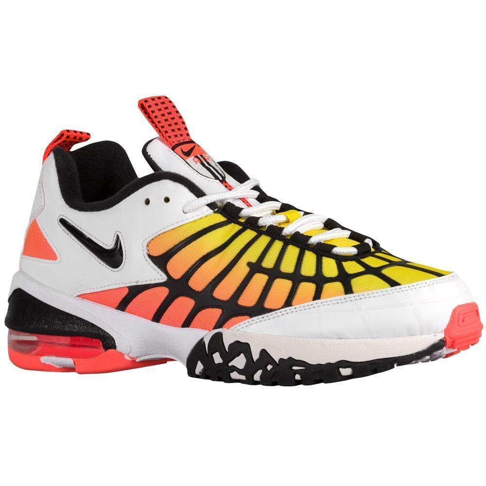 Nike Air Max 120 Men's Running Shoes 819857-100 White Black Hyper Orange ...
