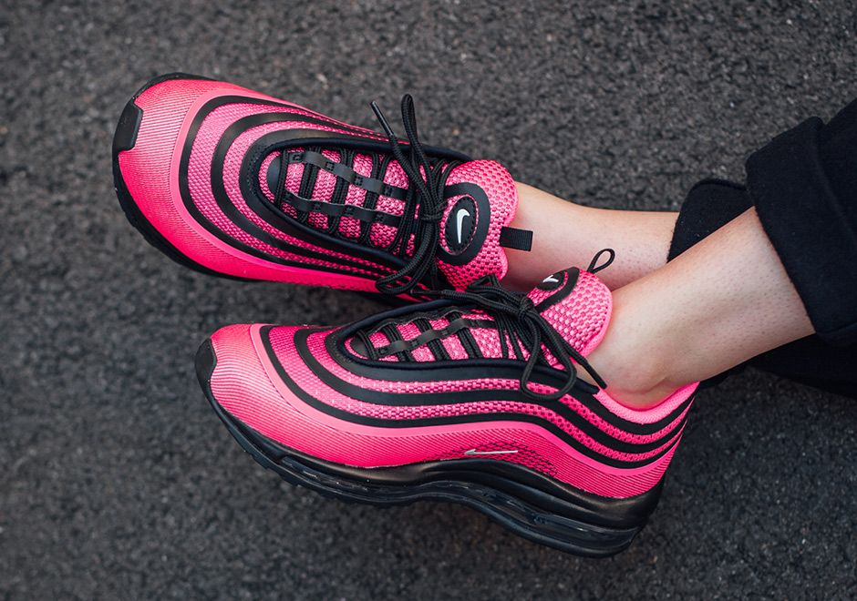 """#sneakers #news Nike Air Max 97 Ultra '17 """"Racer Pink"""" Releases"""