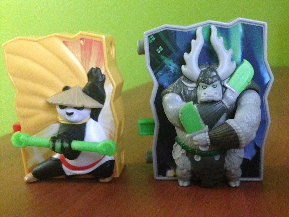 Kung Fu Panda 3 Spirit Warrior And Jade Blade Kai Mcdonald 2016 Happy Meal Toys Ebay Kung Fu Panda Kung Fu Panda Toys Kung Fu