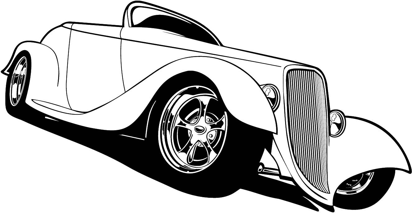 free cartoon hot rod car clipart clipart best [ 1325 x 687 Pixel ]