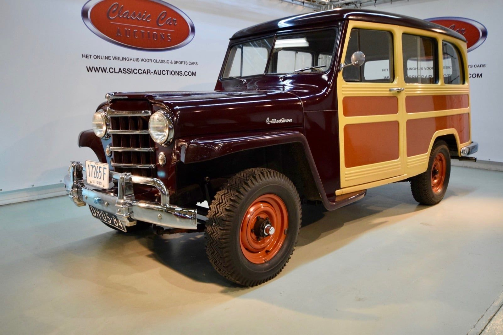 Jeep Willys Overland Station Wagon Woody Look 1951 Willys Jeep