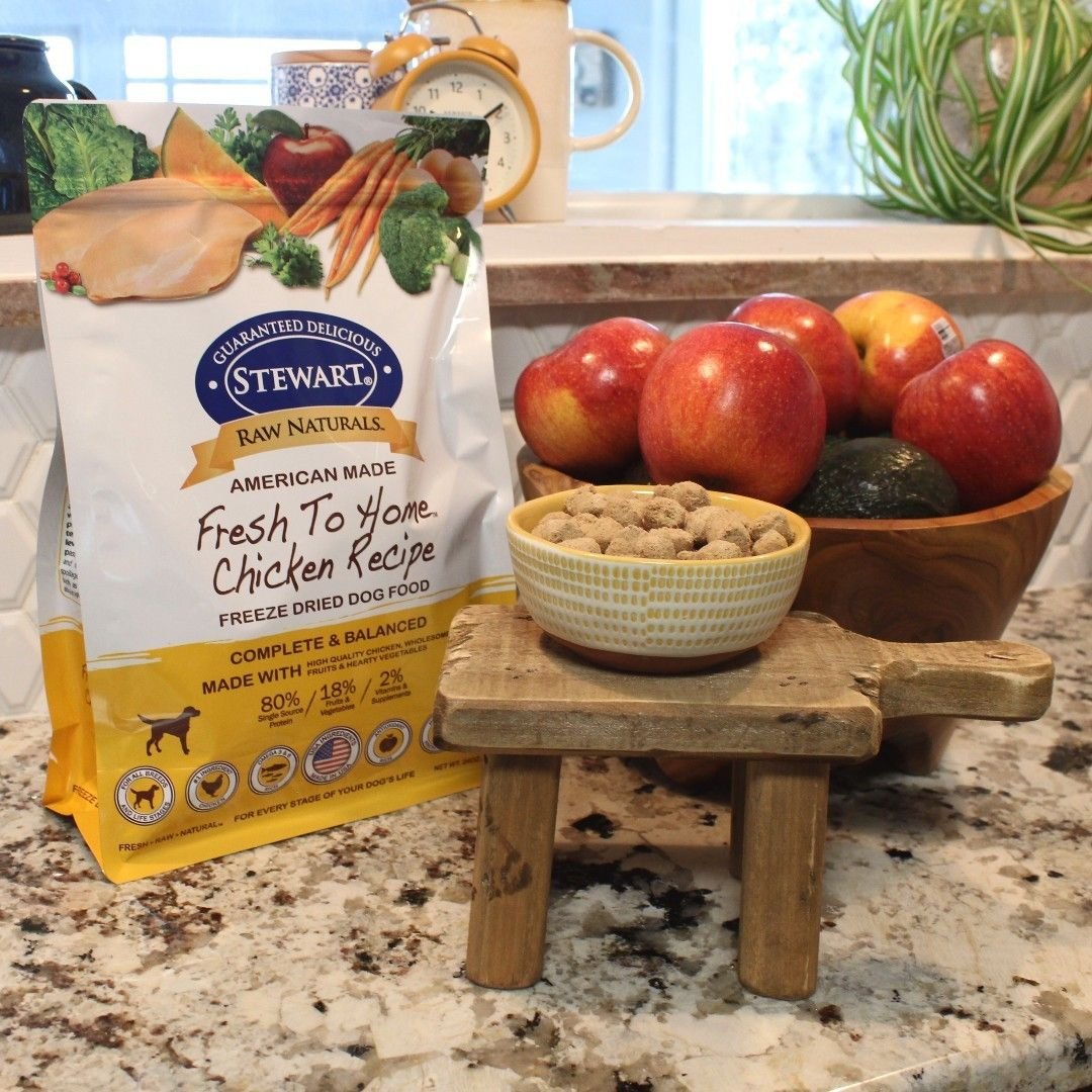 Afternoon Lunch Plans We Ve Got You Covered Made With Fresh Fruits And Veggies Stewart Raw Healthy Dog Food Recipes Dog Food Recipes Freeze Dried Dog Food