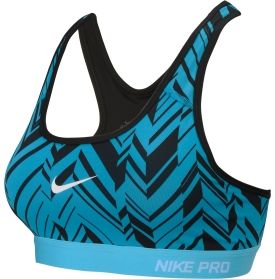 d5956eb2b84af Nike Women s Pro Classic Freeze Frame Padded Compression Sports Bra - Dick s  Sporting Goods