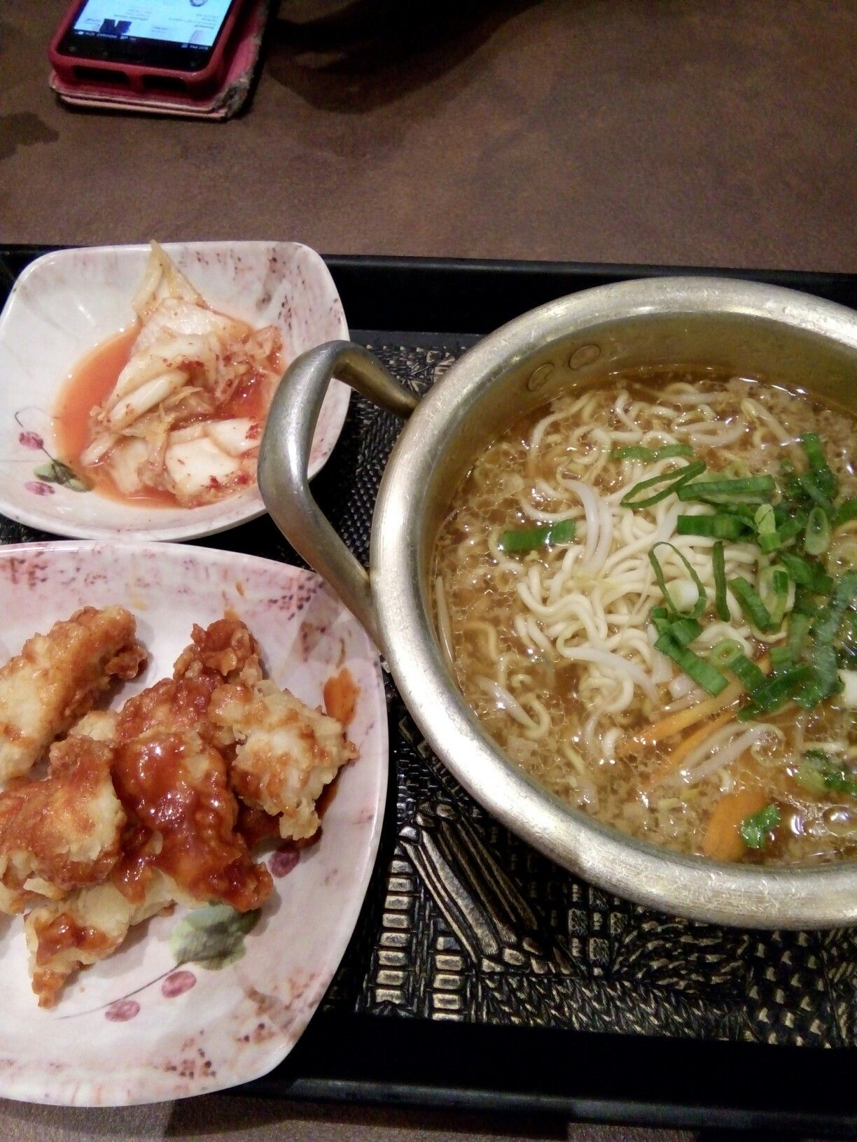 Mi Ramen Mujigae Makanan