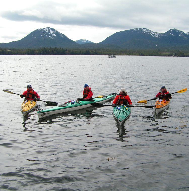 Guide training at southeast sea kayaks kayaking sea