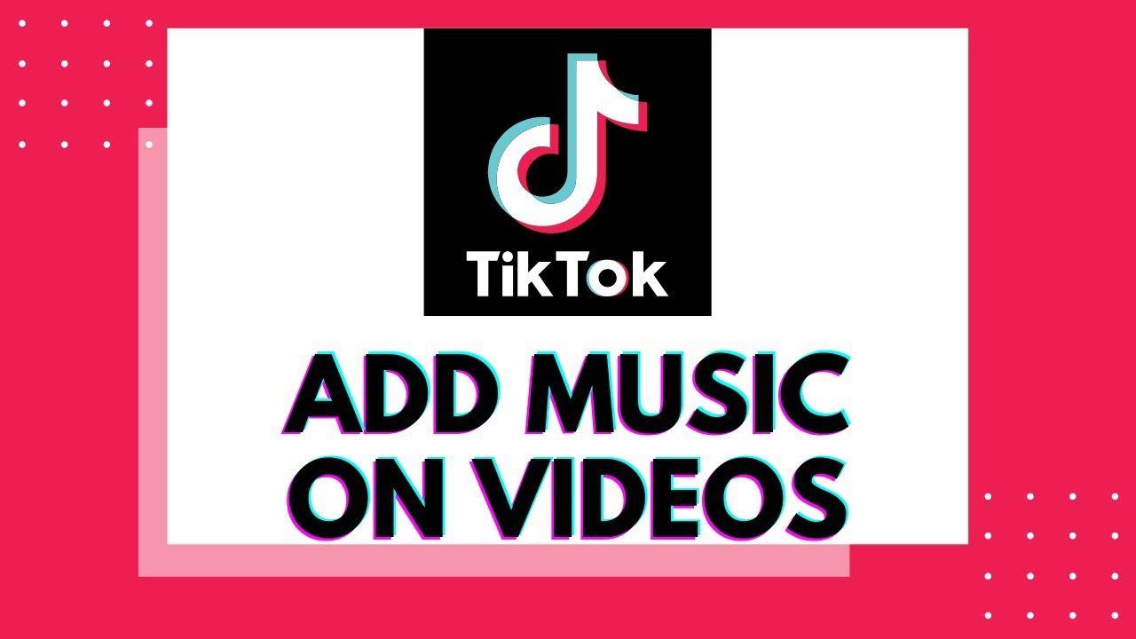 How To Add Background Sound Music To Tiktok Video On Tiktok App 2020 Tiktok Tiktokapp Tiktok2020 Addmusictotiktok Addsound Sound Of Music Add Music Music