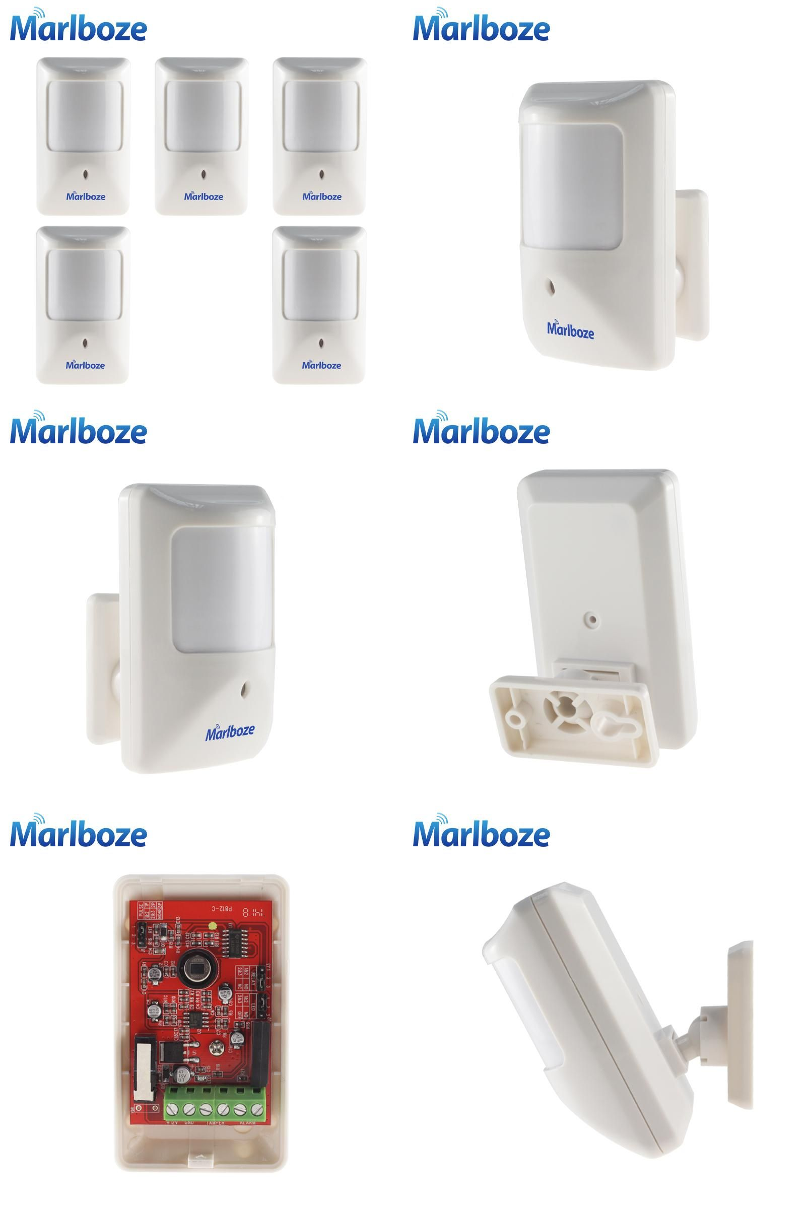 Visit to Buy] Marlboze 5pcs/lot P812 Wired Infrared Motion Detector ...