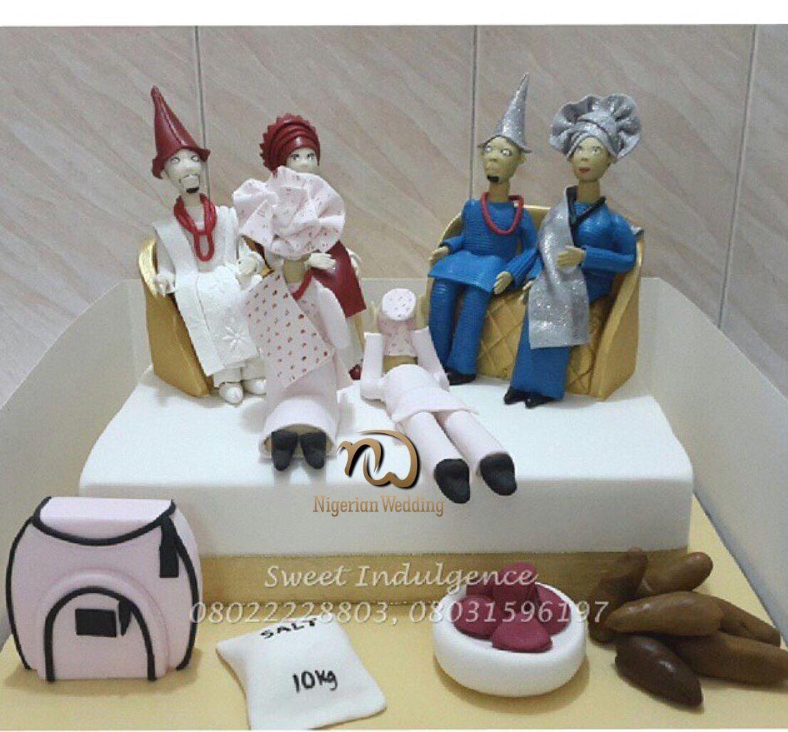 Nigerian traditional wedding decor ideas  Presents  Traditional Wedding Cake Ideas  THINGS  Pinterest