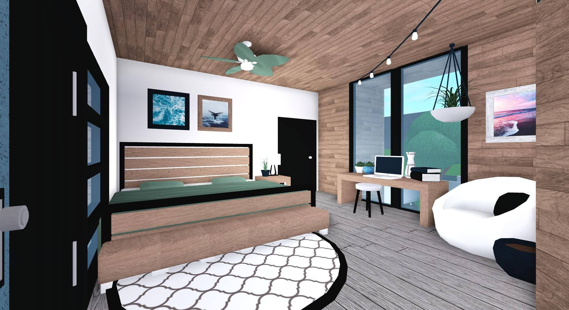 Aesthetic Bloxburg Bedroom Ideas