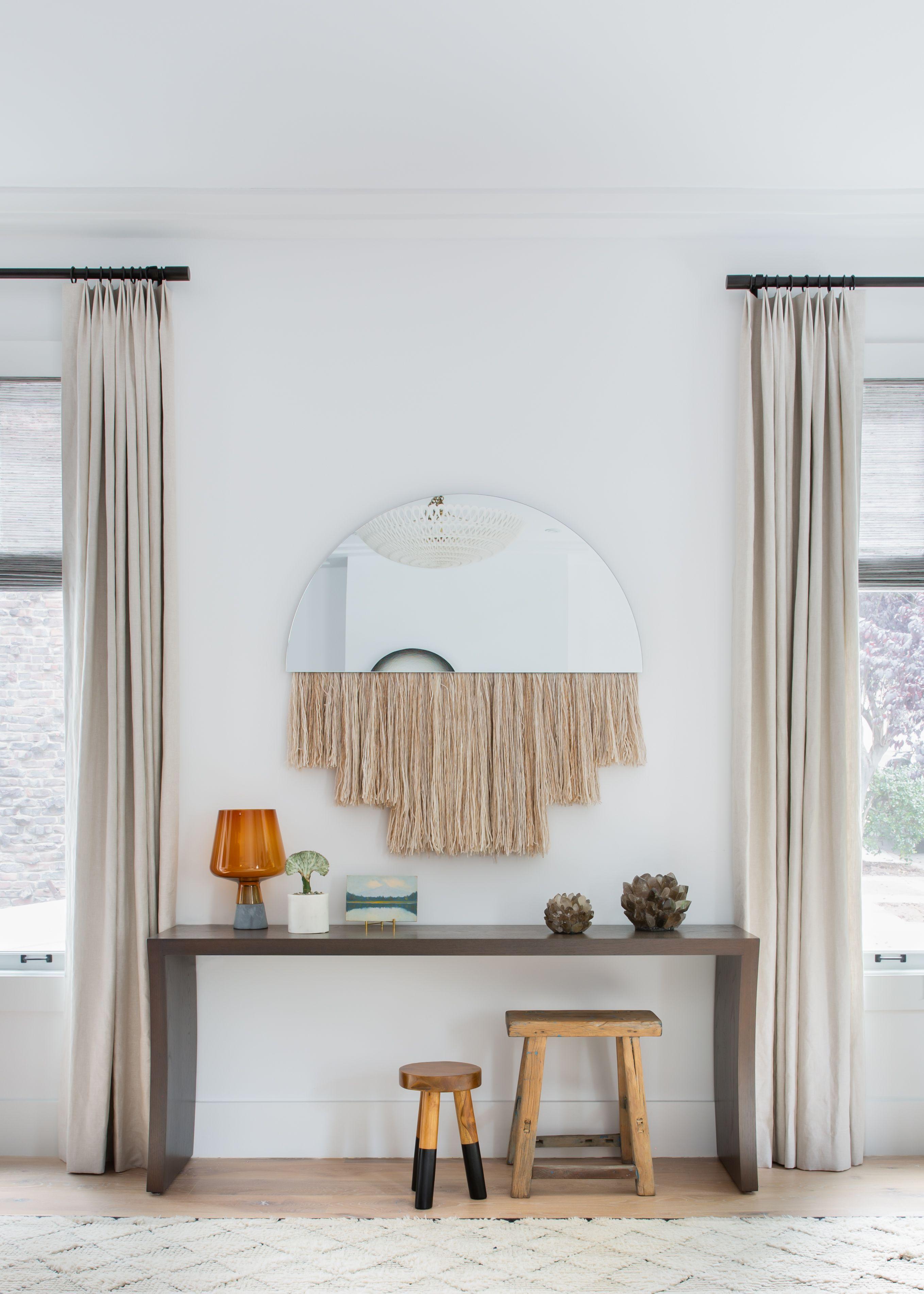 Cool Sunken Living Room Ideas For Your Dreamed House: Neural, Bohemian, Textured Living Room Corner By Regan Baker Design