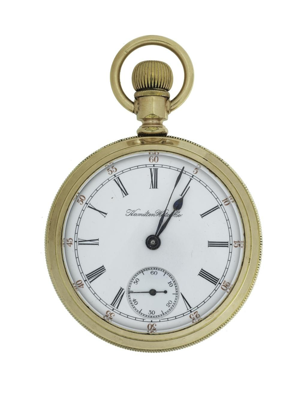 """Hamilton Watch Company's watch model """"Grade 936,"""" made about 1900.  #WatchWednesday"""
