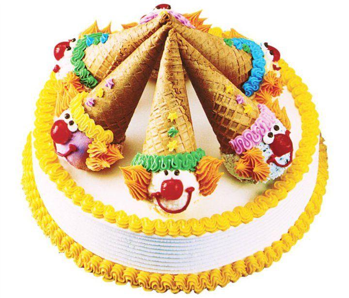 Baskin Robbins clown cones Birthday Classic Events Pinterest