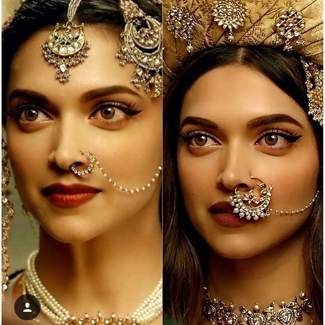 Deepika Padukone | Types of earrings, Nose ring stud, Nose ...