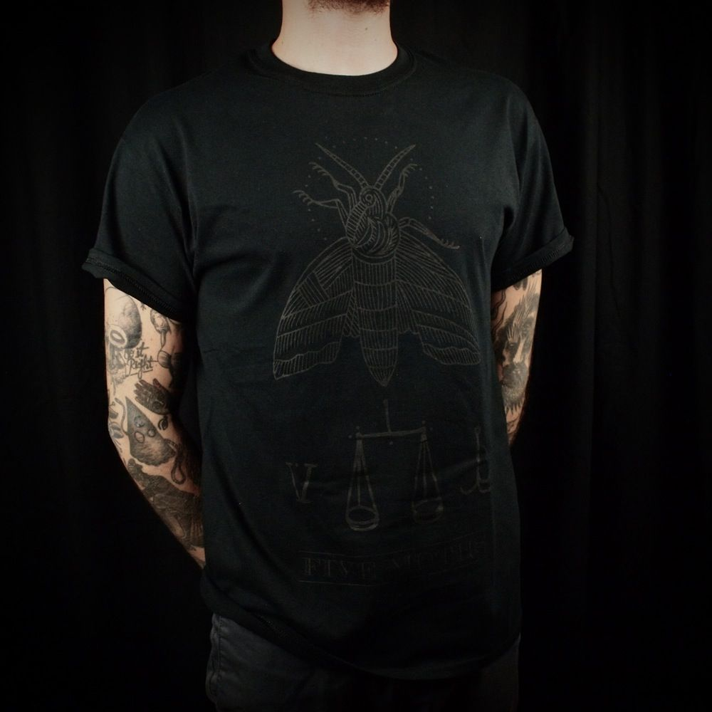 Black screen print on black shirts.Hand printed in Spain. | tattoo ...