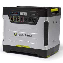 Goal Zero Yeti 1250 Solar Generator In 2020 Solar Generator Monocrystalline Solar Panels Solar Power Panels