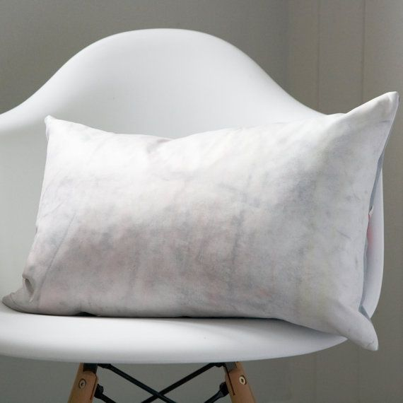 Pastel cushion, white leather cushion, white cushion, pink cushion, white  leather pillow, unique home accent, luxury cushion, one of a kind