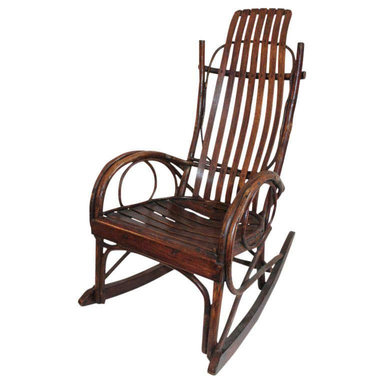 Amish Bent Wood Childs Rocking Chair In 2019 Products Rocking