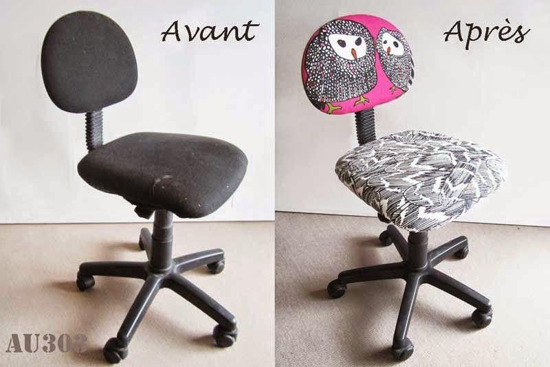 Relooker Une Chaise De Bureau Enfant Pour 5 Au 303 Home Deco Tuto Diy Recup Systeme D Chaise Bureau Enfant Chaise Bureau Bureau Enfant