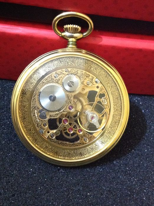 4341cb4cbd2f Currently at the  Catawiki auctions  skeleton pocket watch swıss