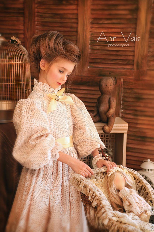 Платье детское для фотосессии Золотые воспоминания ...