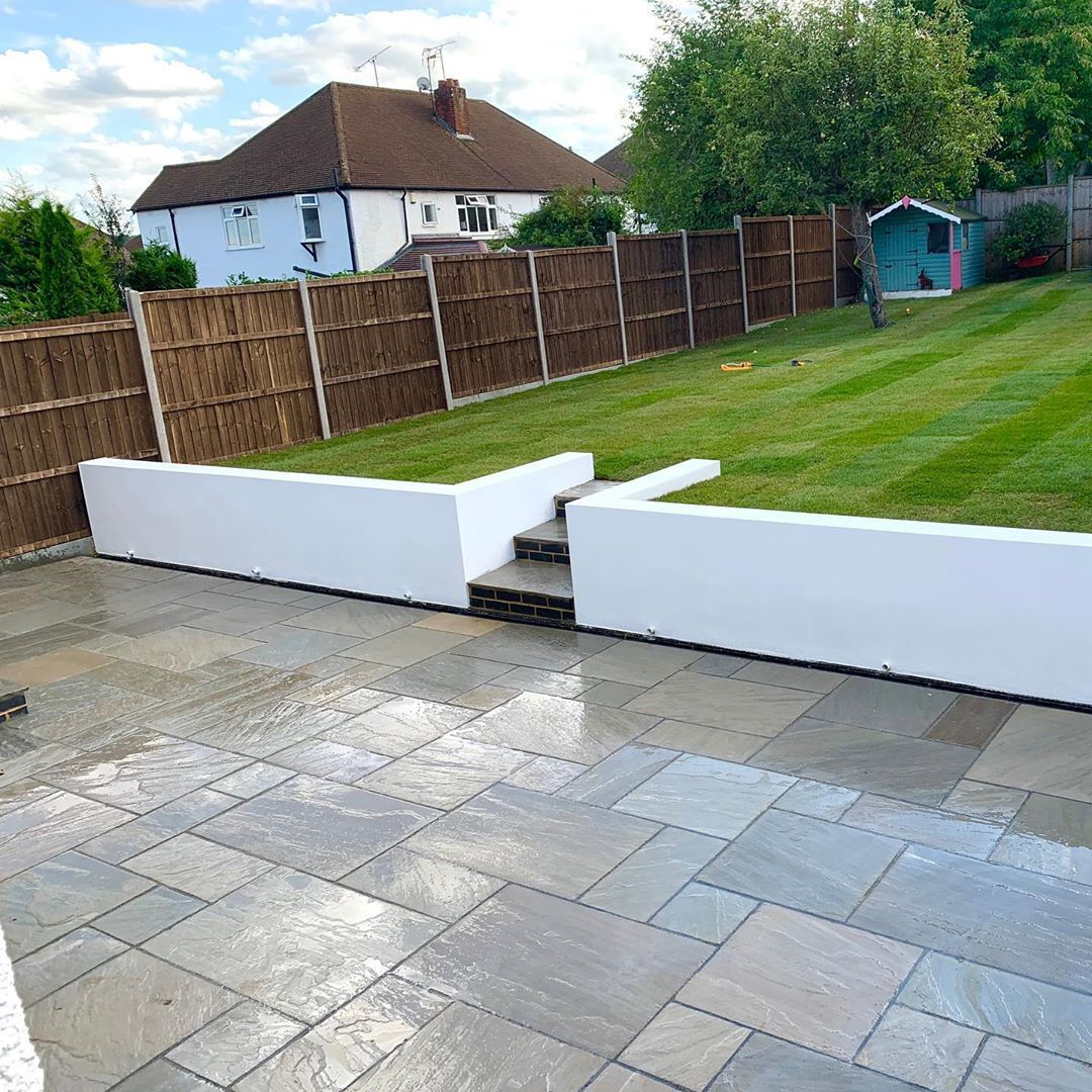 Few Pics From Our Latest Job In West Wickham Gardendesign Gardening Landscapedesign Landscape Landscaping Patio Tu Landscape Design Garden Design Patio