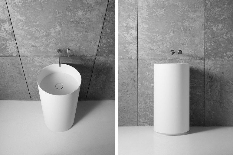 Lavabo freestanding in Corian® EGO - Antonio Lupi Design ...