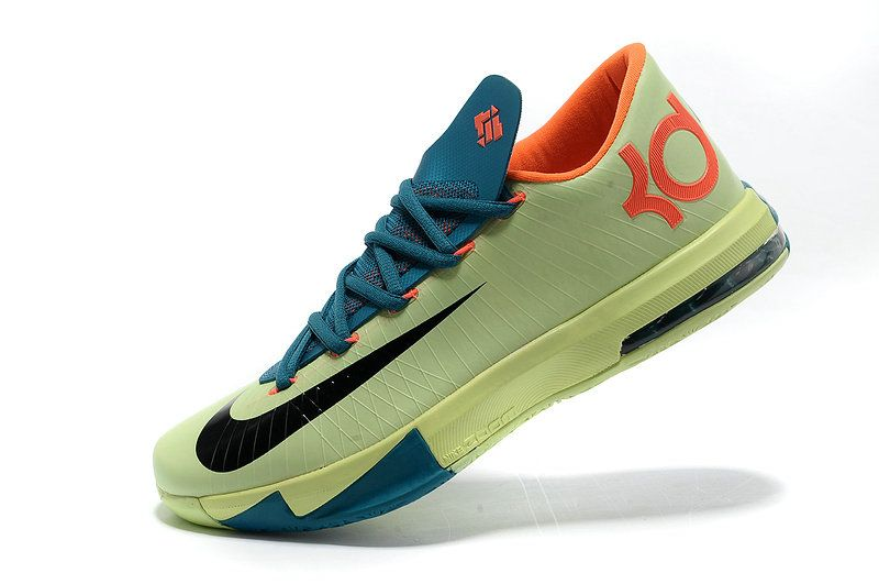 release date: de82a 1e307 Free Shipping Only 69  KD VI All Star Liquid Lime Obsidian Sport Turquoise  Total Crimson