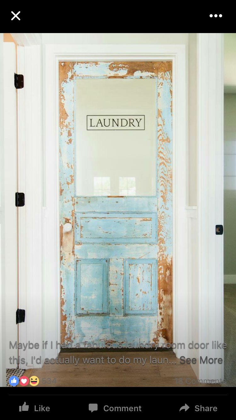 Pin By Tanya Keene On Windows Shutters And Doors Vintage Laundry Room Laundry Room Doors Vintage Laundry