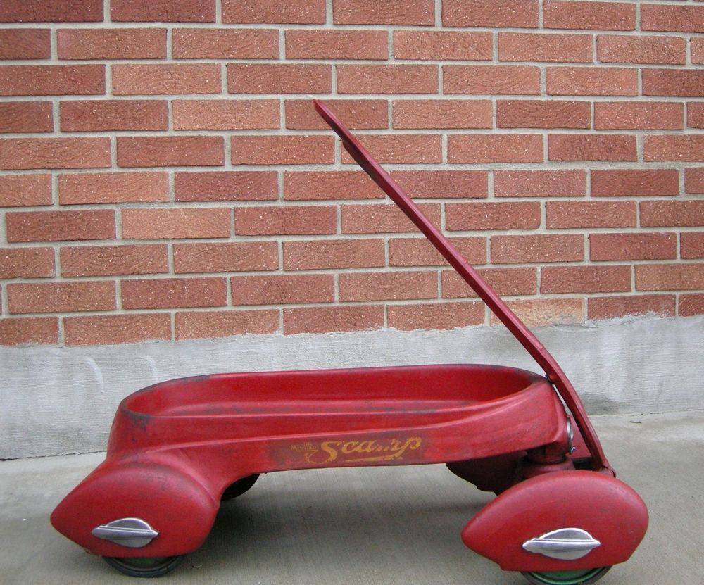 Original 1937 Metalcraft Air Flow Scamp Wagon