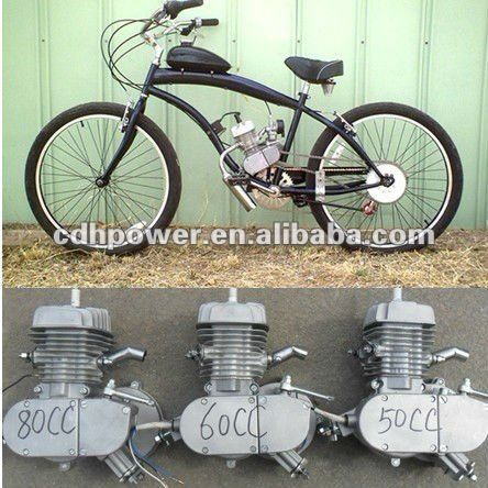 2 Stroke 80cc Bicycle Engine Kit Bicycle Gas Engine Kit Motor