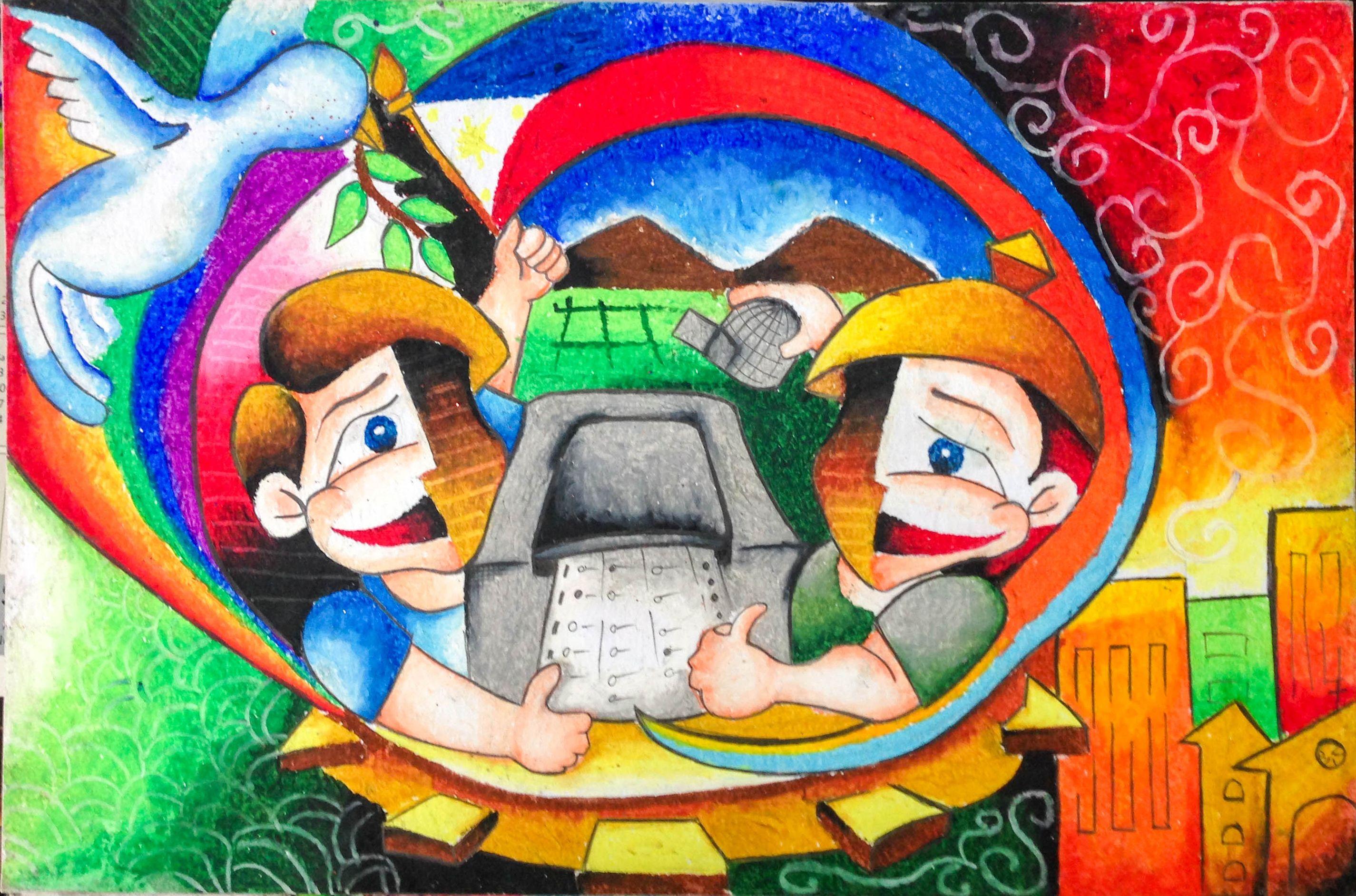03 - 104 John Michael R  Inocencio (Grade 6-Humility) | Poster