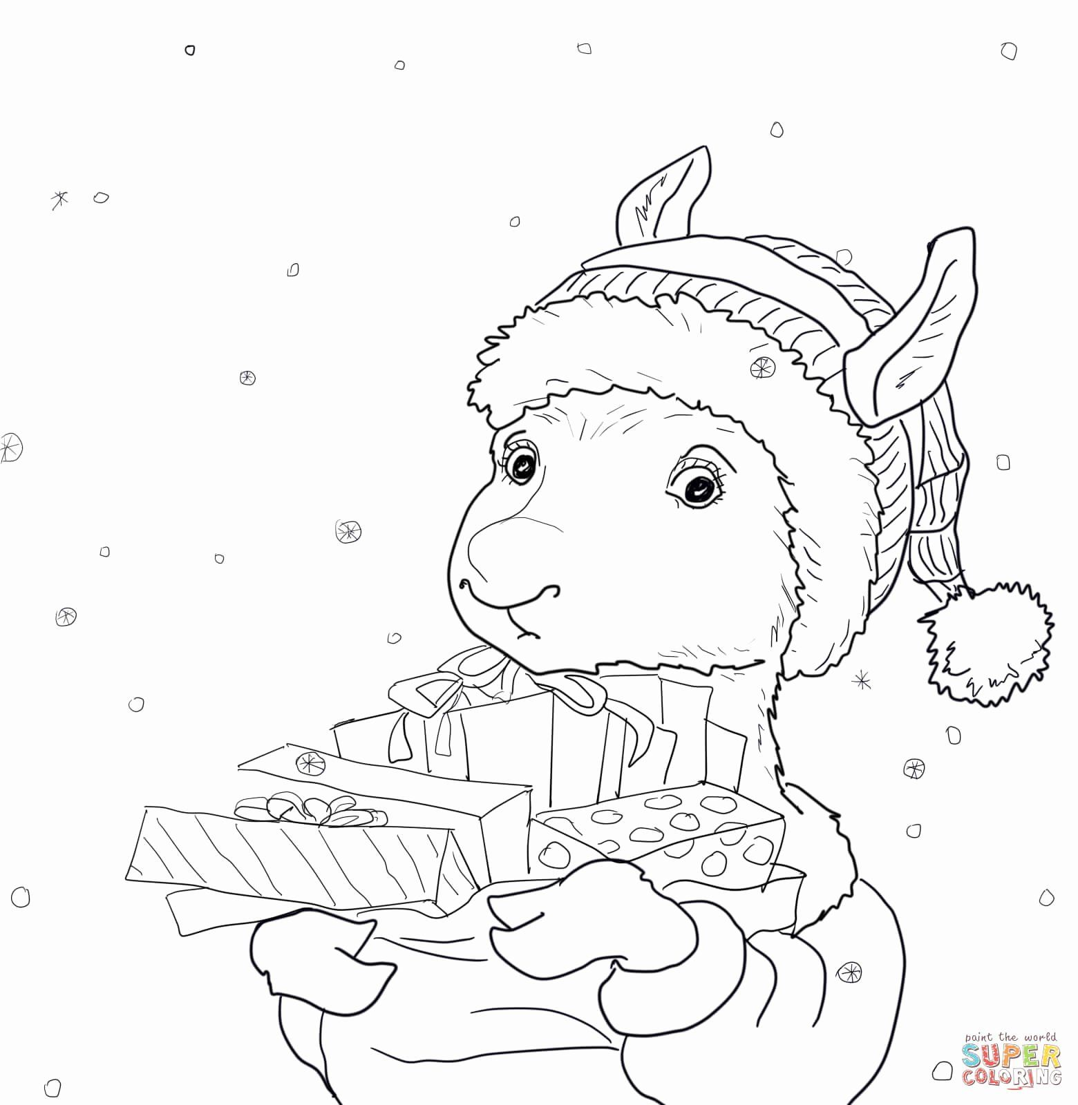 32 Llama Llama Red Pajama Coloring Page In 2020 Coloring Pages