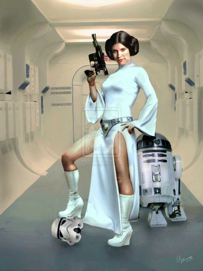 Help me princess Organa, you're my only hope! by ~puiver ... How Old Was Princess Leia In A New Hope