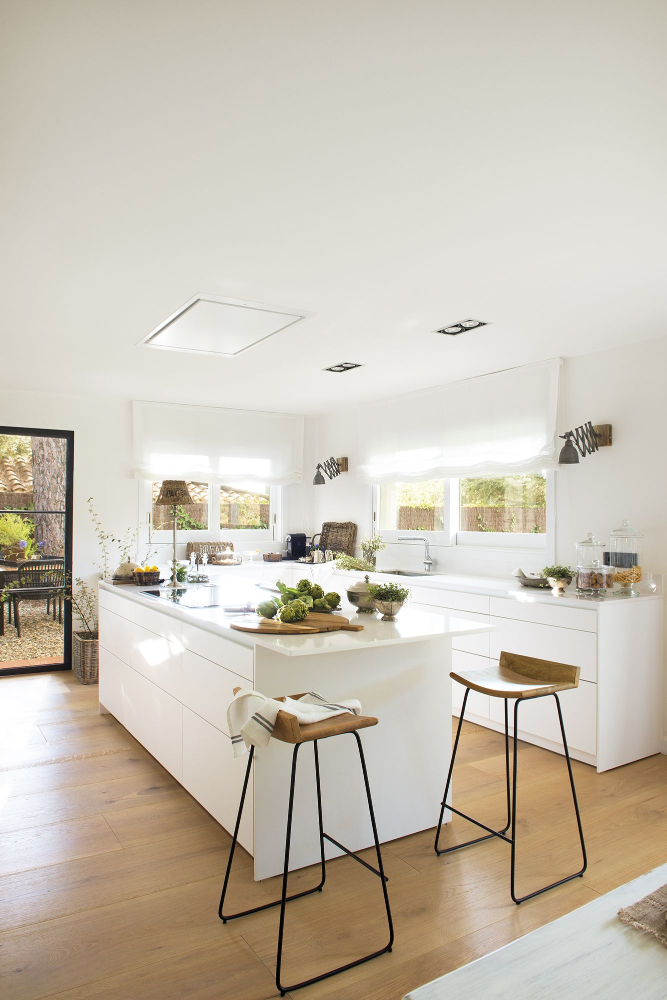 Espacios Confortables Interieur Moderne De Cuisine Decoration Interieure Cuisine Cuisine Moderne