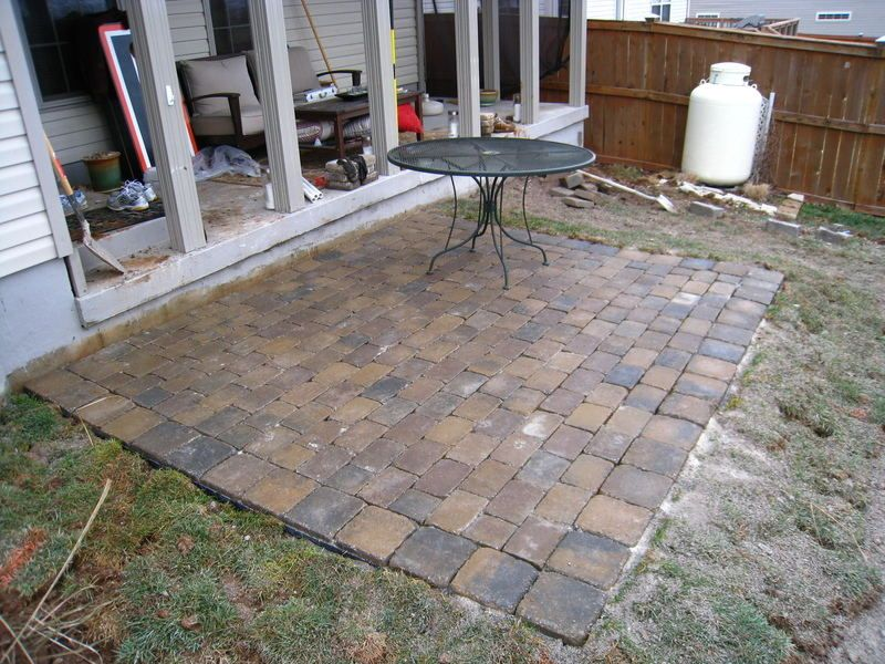 diy raised paver patio raised patio diy with lessons learned landscaping to be lessons learned and