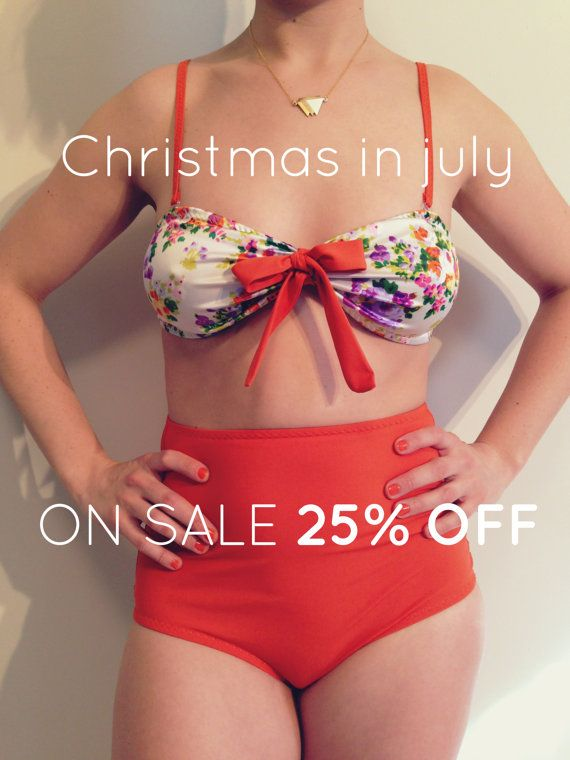 Christmas In July Swimsuit.Christmas In July Two Pieces Swimsuits Floral Top By